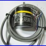 เอ็นโค้ดเดอร์ โรตารี่เอ็นโค้ดเดอร์ Omron rotary encoder E6B2-CWZ1X 5VDC 1000P/R