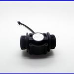 """เซ็นเซอร์วัดอัตราการไหลของน้ำ 1-60ลิตรต่อนาที G1"""" Water Flow Sensor Switch Flow Meter Counter"""