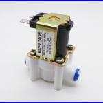 โซลินอยด์วาล์วเครื่องกรองน้ำ โซลินอยด์ปิดเปิดน้ำ โซลินอย์ปิดเปิด 2หุน Electric Solenoid Valve 24VDC 1/4
