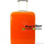 กระเป๋าเดินทางล้อลาก ขนาด 20 นิ้ว สีส้ม