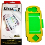 PSP : Protective Dual-color Soft Silicone Skin Case for 2000-3000
