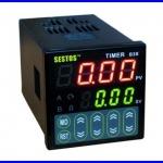 เครื่องตั้งเวลาดิจิตอล ตั้งเวลาเปิดปิดอุปกรณ์ ตั้งเวลา วินาที นาที ชั่วโมง Sestos Digital Quartic Timer Relay Switch 12-24V