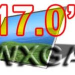 จอ LCD 17.1 WXGA WIDE จอกระจก 1280 x 800 PIXELS