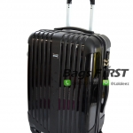 กระเป๋าล้อลากสีดำ เนื้อ PC ไซด์ พิเศษ 22 นิ้ว