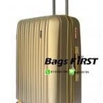 กระเป๋าเดินทางFiber ขนาด 24 นิ้ว สีทอง
