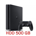 PS4: Console Slim 500GB - Jet Black (ประกันศูนย์ไทย) [ส่งฟรี EMS]