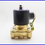 """โซลินอยด์วาล์ว ปิดเปิดน้ำ เปิดปิดแก๊ซ ปิดเปิดน้ำมัน 3/4"""" 12V DC Electric Solenoid Valve 142 PSI Water Gas"""