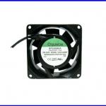 """พัดลมระบายความร้อน พัดลมระบายอากาศ 220-240VAC 2300/2750 RPM 18/16W 3"""" SF23080A-2083HSL.GN"""