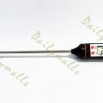 เครื่องวัดอุณหภูมิอาหาร เทอร์โมมิเตอร์วัดอุณหภูมิในอาหาร แบบดิจิตอล (Digital Food Probe Thermometer)