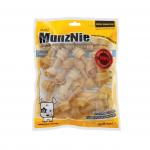 ขนมสุนัข MUNZNIE กระดูกผูกสีธรรมชาติ 2.5 นิ้ว