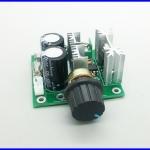 ดิมเมอร์ ควบคุมความเร็วมอเตอร์ดีซี 12V-40V 10A Pulse Width Modulation PWM DC Motor Speed Control