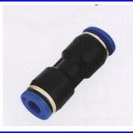 ขั้วต่อลม ข้อต่อลม อุปกรณ์ลม SPU-4 SPU series union sraight(จำนวน10ชิ้น)
