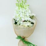 ช่อดอกไม้ Premium White