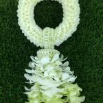 พวงมาลัยดอกไม้สด ขนาดพิเศษ รหัส 3501