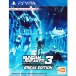 PSVita: Gundam Breaker 3 Break Edition (Z3) [ส่งฟรี EMS]