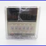 เครื่องตั้งเวลาดิจิตอล ตัวตั้งเวลา 220V AC Programmable Double Time Delay Relay Repeat Cycle Relay Timer DH48S-S