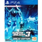 PS4: Gundam Breaker 3 Break Edition (Z3) [ส่งฟรี EMS]