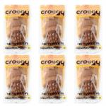 PET2GO ขนมขัดฟันสุนัข CROCGY รสไก่ 63g (6 ตัว/ชุด)