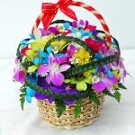 กระเช้าดอกไม้ Joyful Season