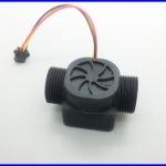 """เซ็นเซอร์วัดอัตราการไหลของน้ำ 1-60ลิตรต่อนาที Water flow sensor flow meter controllor 3/4"""""""