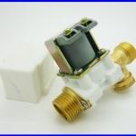 โซลินอยด์วาล์วน้ำ โซลินอยด์ไฟฟ้าปิดเปิดน้ำ ปิดเปิดน้ำมัน วัสดุทองเหลือง Electric Solenoid Valve for Water Air N/C 12V DC 1/2