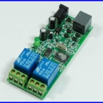 ควบคุมอุปกรณ์ผ่านโทรศัพท์ แผงวงจร ควบคุมผ่านโทรศัพท์ 2 Ways Wireless Telephone Remote Control Board Module