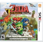 3DS: The Legends of Zelda : Tri Force Heroes (US) [ส่งฟรี EMS]
