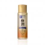 Rohto Hada labo premium lotion 170 ml. โลชั่นขวดทองที่เข้มข้นเปรียบเสมือนเอสเซ้นส์ เพิ่มความเข้มข้นด้วยไฮยารูโลนิค เอซิด 5 ชนิด made in Japan ค่ะ