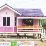2-015 บ้านน็อคดาวน์ ทรงจั่วมุกซ้อน
