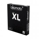 Okamoto XL (Thai Edition) ขนาดใหญ่ที่สุด ผิวเรียบ บาง สีธรรมชาติ ขนาด 54 มม.