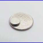 แม่เหล็กถาวร แม่เหล็กนีโอไดเมีย 8mm x 1.5mm N50 แม่เหล็กถาวรนีโอไดเมียมมีแรงดึงดูดสูง Magnet Neodymium (ชุดละ20ชิ้น)