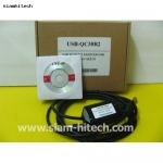 สายโหลดPLC หัวแบบUSB ใช้กับPLC ยี่ห้อMitsubishi Melsec-Q series (USB-QC30R2)-ของใหม่ค่ะ