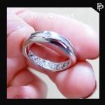 แหวนเพชรCZ แหวนพูนทรัพย์
