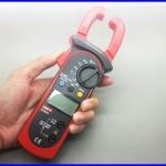 แคมป์มิเตอร์ เครื่องมือวัดไฟฟ้า วัดกระแสไฟ และ แรงดัน AC/DC Digital Clamp Meter UNI-T UT204A