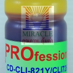 CD-CLI821Y/CLI726Y REFILL INK MIRACLE PRO 100 cc CANON YELLOW