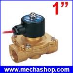 """โซลินอยด์ปิดเปิดวาวล์น้ำด้วยไฟฟ้า Electric Solenoid Valve Magnetic 220V Water Air Inlet Flow New Switch 1"""""""