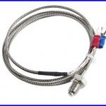 เทอร์โมคับเปิล เซนเซอร์เครื่องวัดอุณหภูมิ เซนเซอร์วัดอุณหภูมิ K Type Thermocouple 800C ( cable 1m)