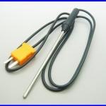 สายเทอโมคัปเปิ้ล สายเครื่องวัดอุณหภูมิ เซนเซอร์เครื่องวัดอุณหภูมิ 700 องศาTemperature Controller K Type Thermocouple Probe Sensor 100cm Wire Cable