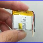 แบตเตอรี่ ลีเธี่ยม โพลิเมอร์แบตเตอรี่ battery 600mAh 3.7V lithium polymer battery 404040