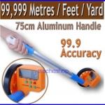 เครื่องมือวัดระยะ ล้อวัดระยะทางดิจิตอล เทปวัดระยะ Distance Measuring 99999.9m ชนิดเดินตาม วัดระยะได้ไกล 99999.9เมตร