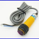 โฟโต้อิเล็กทริคเซนเซอร์ โฟโต้สวิตซ์เซนเซอร์ Photoelectric switch sensor E3F-DS10B2 diameter 18mm distance 10cm 6-36V DC