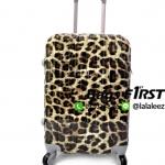 กระเป๋าเดินทางPC ลายเสือดาว ขนาด 20