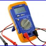 เครื่องมือวัดไฟฟ้า ดิจิตอลมัลติมิเตอร์ AC/DC Digital Multimeter / Multitester (8 Function Edition)
