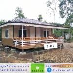 3-011 บ้านน็อคดาวน์ - ทรงปั้นหยา