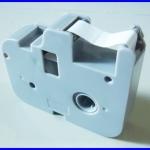 ริบบอนสติกเกอร์ พิมพ์ติดสายไฟ สำหรับ เครื่องพิมพ์ปลอกสายไฟ เครื่องพิมพ์สายไฟ เครื่องมาร์คปลอกสายไฟ Ribbon White Color ยาว 80 เมตร