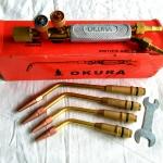 ชุดหัวเชื่อมแก๊ส OKURA ใช้แก๊ส AC รุ่น 8102