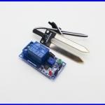 เซนเซอร์วัดความชื้น เซนเซอร์ควบคุมความชื้น DC 12v soil humidity sensor Relay module R019M