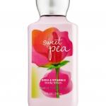 *หมดค่ะ*Bath & Body Works SHEA & VITAMIN E body lotion sweet pea 8 oz.(236 ml.)บำรุงผิวให้นุ่มมม หอมมม นาน 16 ช.ม.ดีมากๆจากอเมริกาค่ะ
