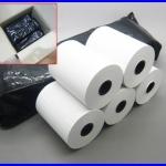 """50 ม้วน กระดาษความร้อน กระดาษเครื่องพิมพ์ใบเสร็จ Thermal Papar กระดาษใบเสร็จ กระดาษสลิป 2"""" 57 mm. เส้นผ่านศูนย์กลาง45 มม. ยาว24เมตร (เกรด A จากญี่ปุ่น)"""