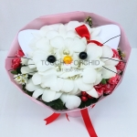ช่อดอกไม้ Kitty Bouquet